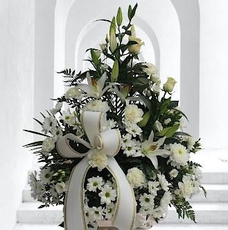 Centro de flores fúnebres para tanatorios para el index